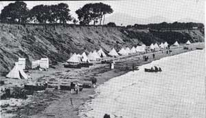 Llanbedrog Beach - with Tents