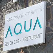 Aqua Beach Bar.Restaurant